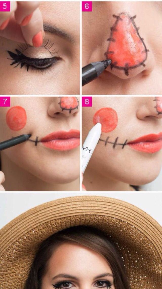 Scarecrow make up
