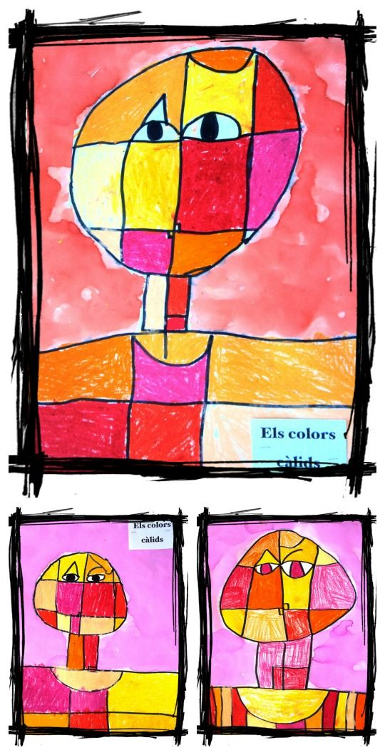 Paul Klee inspired - use as reclaimed wood inspiration..