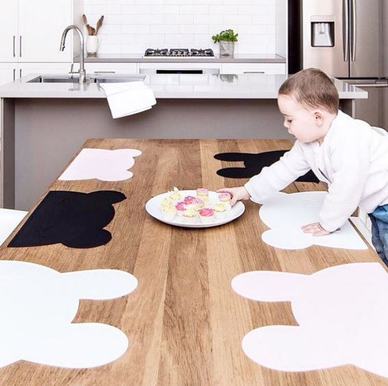 Bunny Kids Placemats and Bear Kids Placemats are now available at lullabuy in…