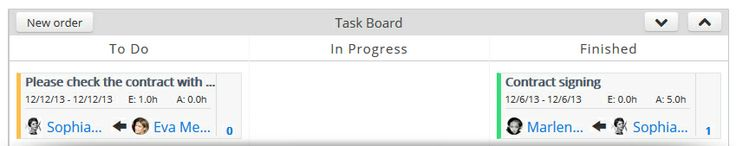 Assign tasks to employees, team leaders and external teams Plan resources and obtain dynamic budget forecasts, automatically synchronized with any resource allocation in your project. Assign orders and tasks to single employees, team leaders, or even external teams and monitor their progress and deliverables. Track the actual project costs as these are generated and reported instantly. Have a clear picture of what's going on at any given moment in your project with powerful and dynamic…