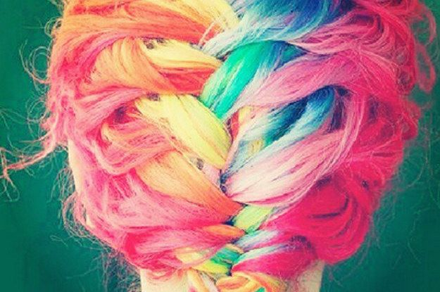 Pastel Rainbow Hair Is Basically The Prettiest Thing Ever
