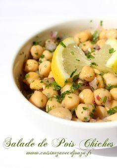 Salade de Pois chiches libanaise très fraîche