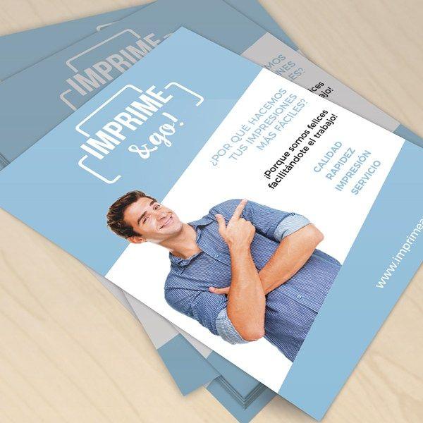 Imprimir Flyers baratos en España #flyers #flyersbaratos #folletos #imprentaonline