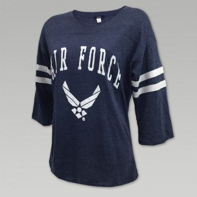 AIR FORCE HOPE OVERSIZED TEE (NAVY)