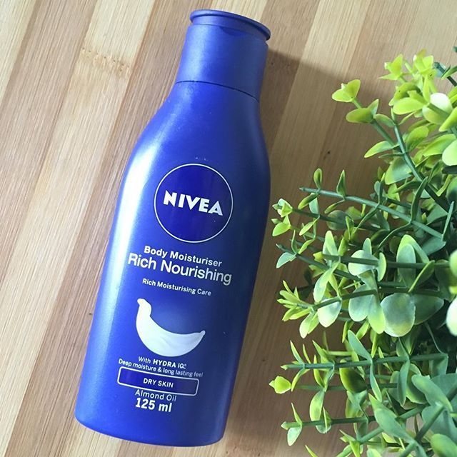 A good moisturiser is so important during the winter. Currently I'm using this Nivea one.  It's a thin lotion that gets the job done. It takes a while to absorb but it's not that super oiliness.