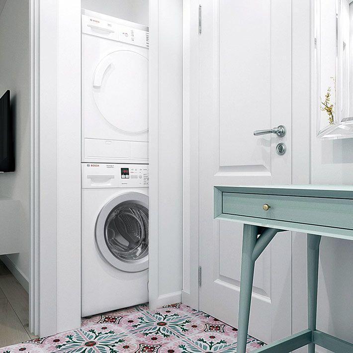 Красочный дизайн маленькой московской квартиры   Фото ...