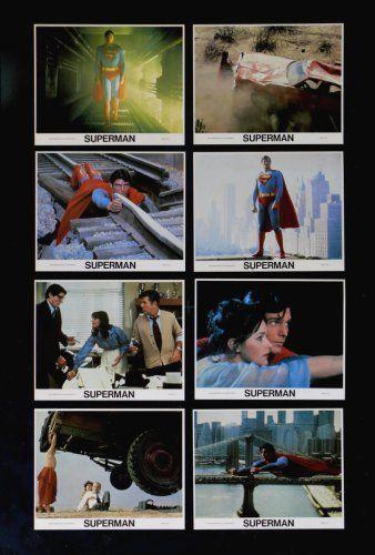 SUPERMAN  ORIGINAL MOVIE POSTER MINI 8X10 LOBBY CARD SET SUPER MAN 1978 @ niftywarehouse.com #NiftyWarehouse #Superman #DC #Comics #ComicBooks