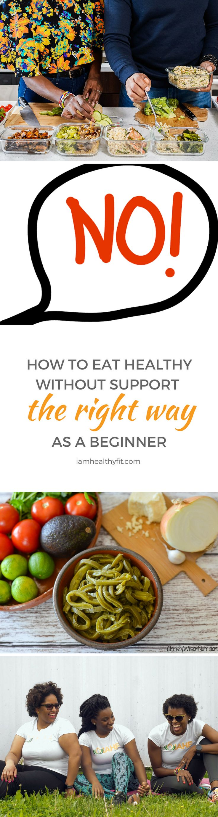 Learn everything you need to know to eat healthy without a support system as a beginner. Plus enjoy a bonus gift inside to get you started.