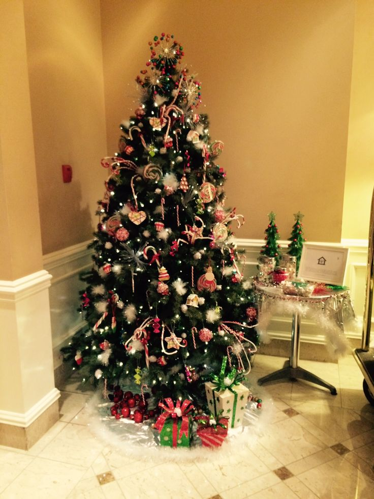 Candyland tree for charity