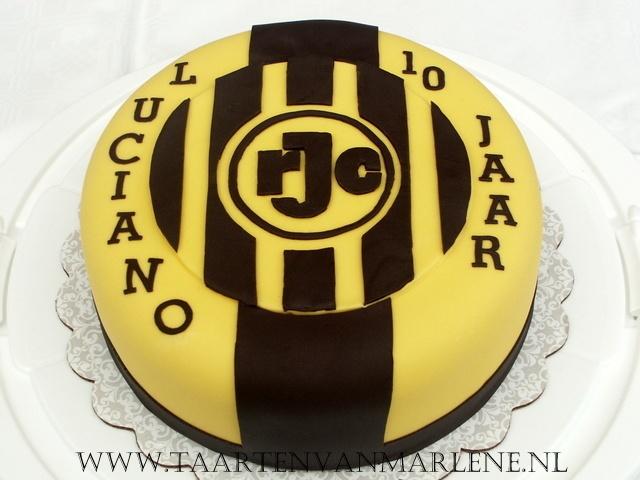 Roda JC taart