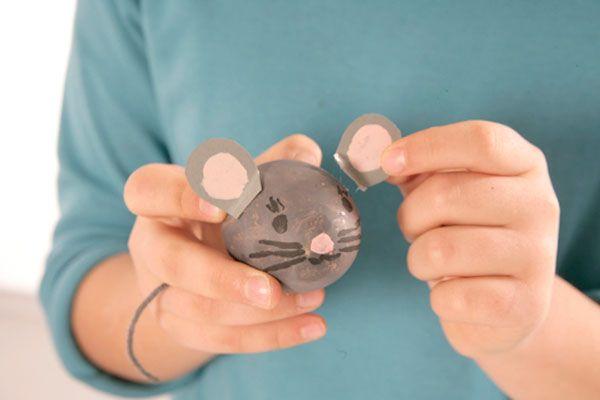 Ostereier-Maus