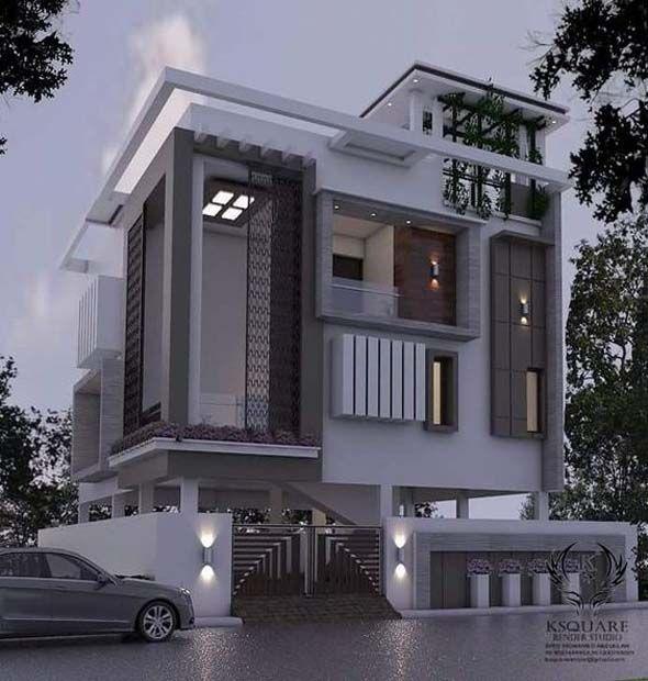 Delightful Bungalow Exterior Design 2019 Duplex House Design Bungalow House Design House Exterior