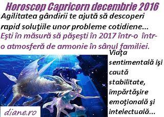 Horoscop decembrie 2016 Capricorn
