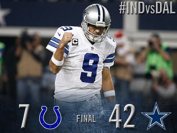 Share the WIN! Cowboys clinch the NFC East! #INDvsDAL #DallasCowboys #FinishTheFight