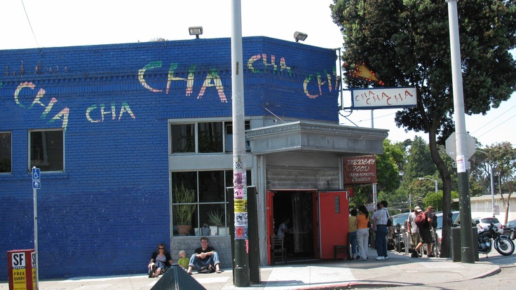ChaChaCha-  In  Haight Ashbury-San Francisco. We went here in May 2008 with the Geoghegans  The tapas are great.  Sangria is so good.  The guys had a beer called Death & Taxes.  The atmosphere is worth every dime you spend on the food.