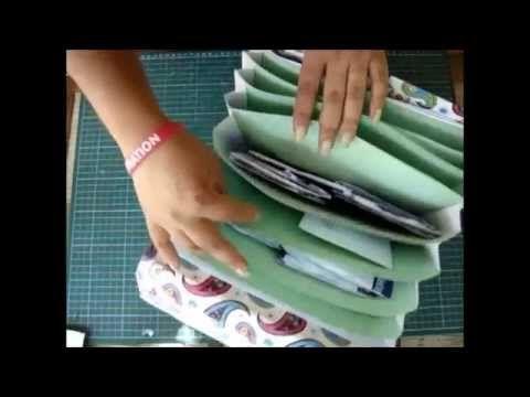 Como hacer un archivero o carpeta para documentos paso a paso
