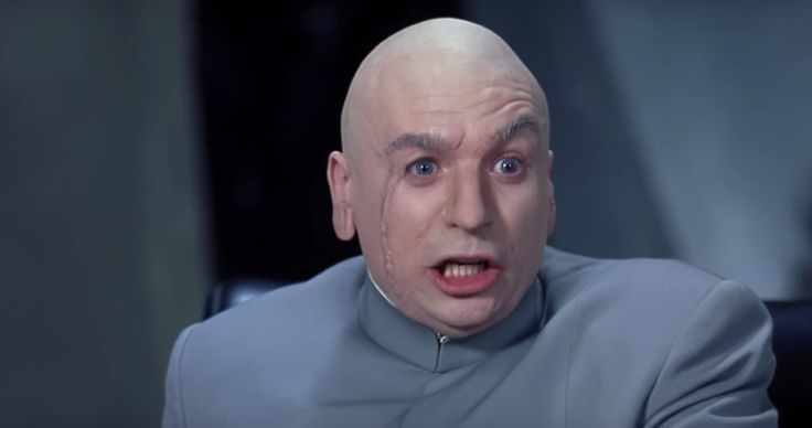 "Dr. Evil's one wish: ""..sharks with frickin laser beams attached""."