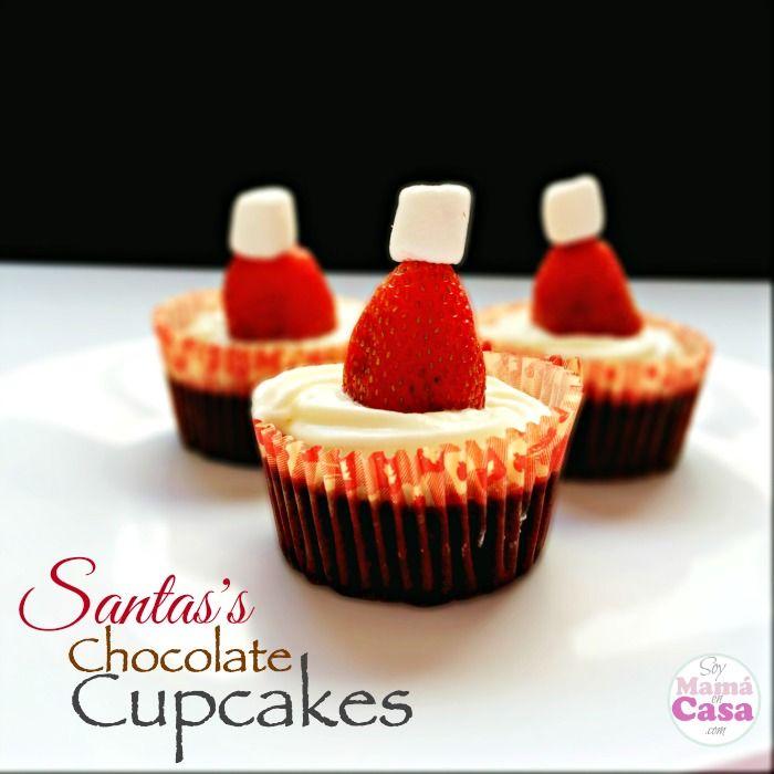 Santa #cupcakes