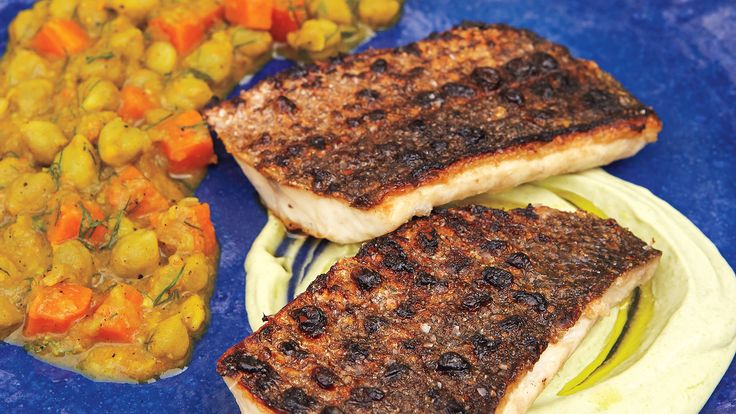 To update the classic Passover menu, chef Michael Solomonov recommends looking to Israel. He shares a recipe for Middle Eastern-inspired grilled branzino fillets with chickpea stew. Plus, Wine Spectator recommends 16 kosher wines to pair with your spring Passover feast.