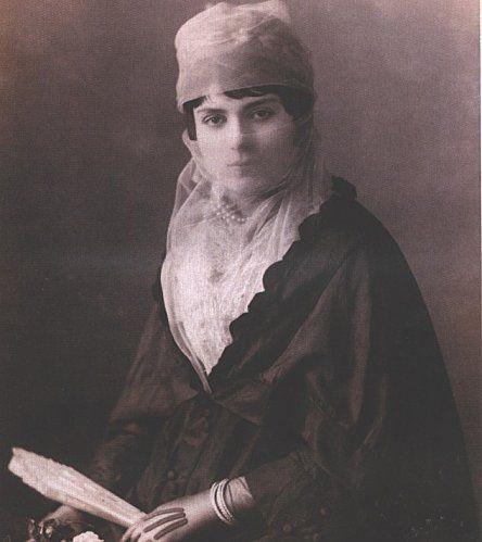 Turkish Woman, Ottoman Empire 1890.