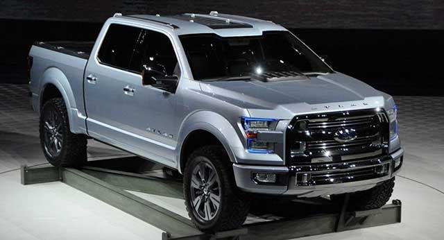 Ford F 150 2020 Changes Atlas Concept And Hybrid Engine With