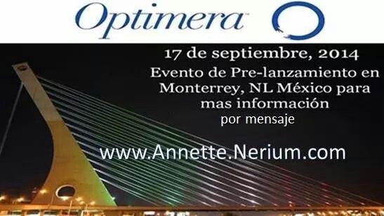 Quiere ser de los PRIMEROS? Tendremos pre-apertura próximamente! Monterrey, #Guadalajara y #México! #Optimera #Nerium #Oportunidad