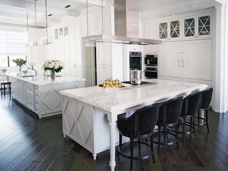 Best  Double Island Kitchen Ideas Only On Pinterest Kitchens - Kitchen cabinet island ideas