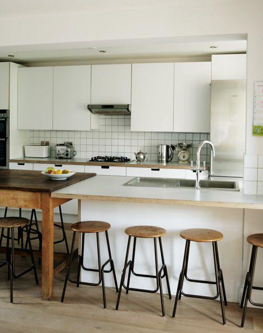 Birch Ply & Formica Kitchen by Matt Antrobus