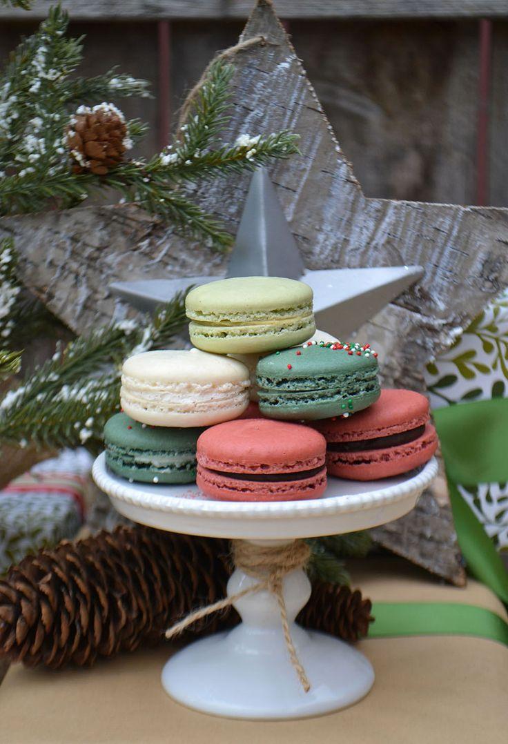 French Macarons for the holidays. Bake Sale Toronto.