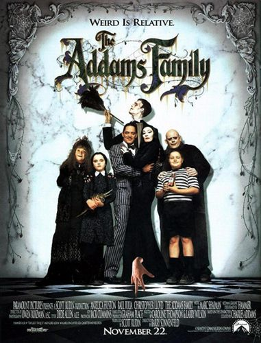 Directed by Barry Sonnenfeld.  With Anjelica Huston, Raul Julia, Christopher Lloyd, Dan Hedaya. Con artists plan to fleece an eccentric family using an accomplice who claims to be their long-lost uncle.