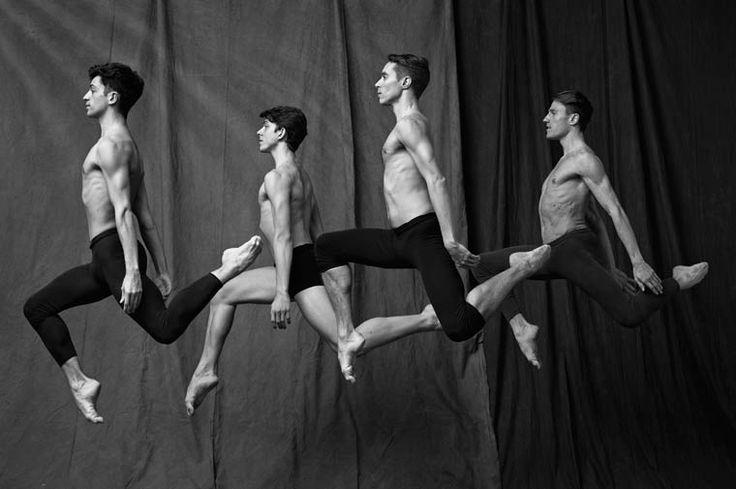 Une série intitulée simplementLes Danseurs, imaginée par le talentueux photographeMatthew Brookes, célèbre pour ses portraits et ses photographies auto