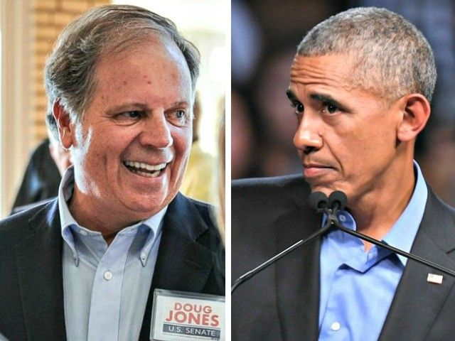 """Obama campaign officials orchestrated more than $1.1 million of """"in-kind"""" contributions to the Doug Jones Alabama Senate campaign."""