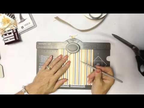 Take Five for Stamping: Gift Bag Punch Board Pouch Style Envelope - YouTube