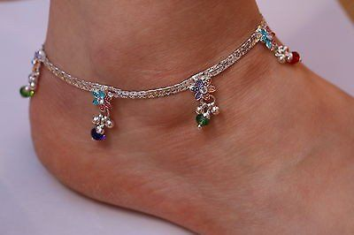 Flower Anklet Bollywood Payal