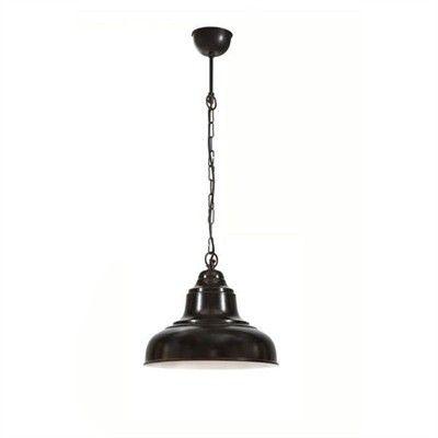 Emac & Lawton - Brasserie Black Small Overhead Light