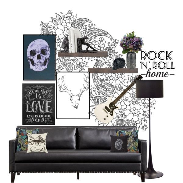 1000 images about rock n roll house ideas on pinterest. Black Bedroom Furniture Sets. Home Design Ideas
