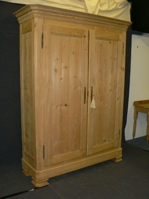 Large Very Tall Antique Pine Wardrobe Furniture Pinterest Pine