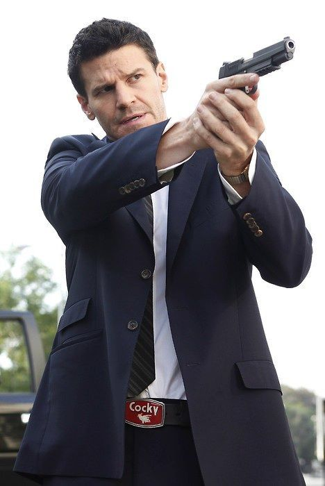 Special Agent Seeley Booth.  Yum...
