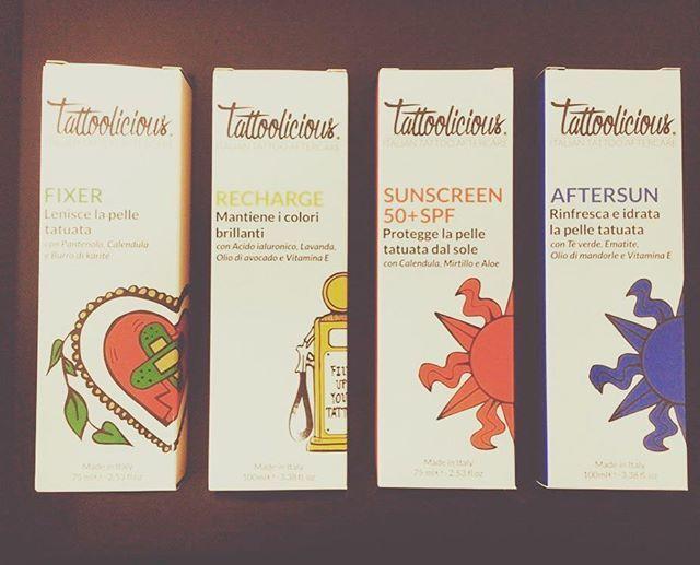 Cosmobio vi presenta Tattoolicious, una linea di creme dedicata unicamente al trattamento dei vostri tatuaggi! Da oggi non potrete più farne a meno! SOLO PER SAN VALENTINO SU 2 CREME ACQUISTATE SCONTO 30% #organic #tattoo #tattooaftercare #tatuaggio #sunscreen #aftersun #recharge #camposampiero #vegan #italianstyle #cesco