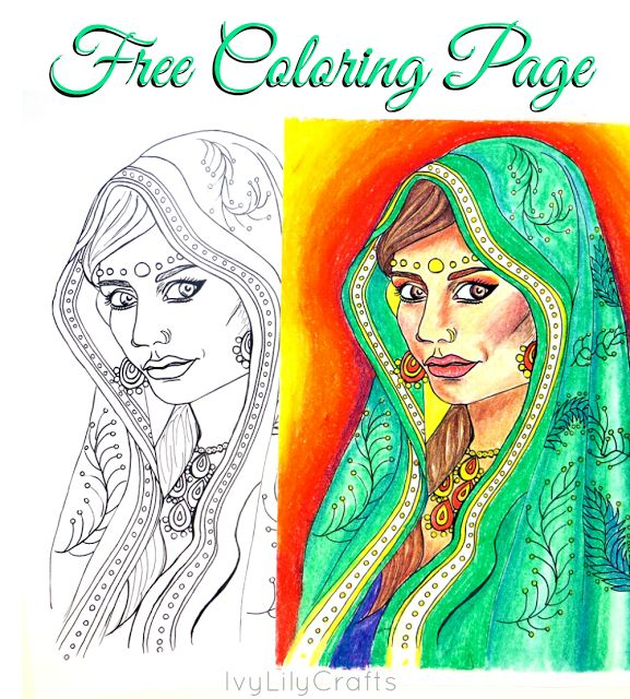 Free Printable Adult Coloring Pages. Get ready to color! Click through to print out these free ethnic coloring pages for kids and adults.