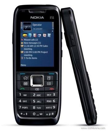 Este celular agora pertence a Luci Ane.  Nokia E51 - Smartphone (Symbian)  (TIM Loja Física, antes de 2007). Agora pertence a Luci Ane.
