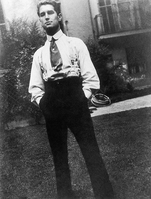 Maurice Chevalier in France at around twenty-two years of age, c. 1910