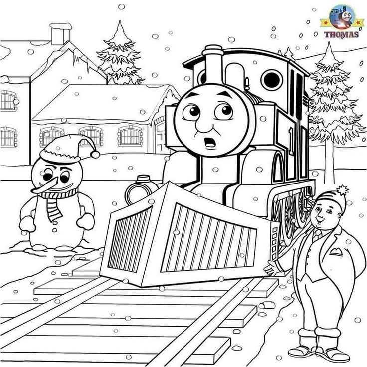 coloring page thomas the train printable | Coloring Page
