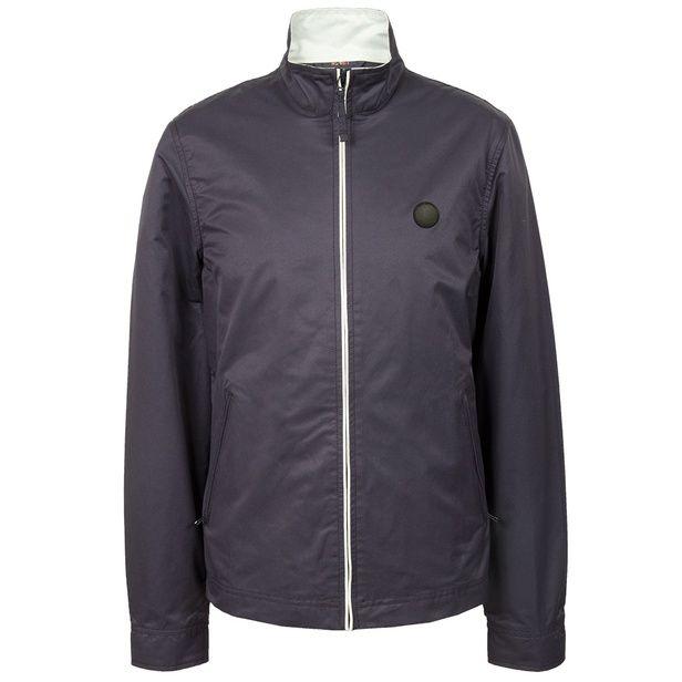 Navy Corporation Monkey Jacket   Pretty Green   Designer fashion from Liam Gallagher
