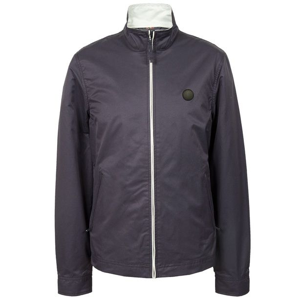 Navy Corporation Monkey Jacket | Pretty Green | Designer fashion from Liam Gallagher