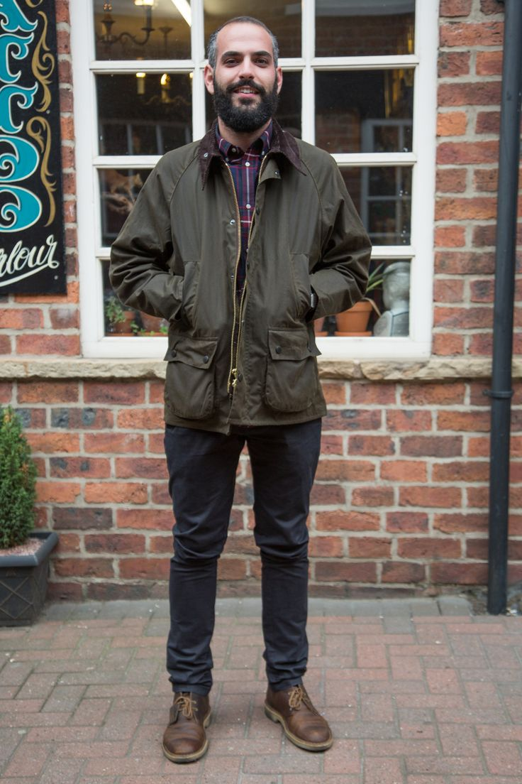 We met Theo in Sheffield completing a smart casual style with the Bedale waxed jacket - a classic winter warmer.