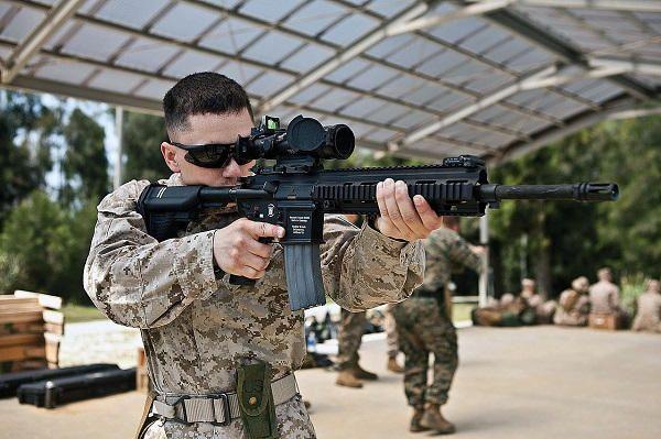 L'US Marine Corps a l'intention d'acquérir plus de 50.000 unités d'une variante du fusil HK-416 - Zone Militaire