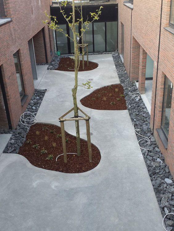 25 beste idee n over beton achtertuin op pinterest betonnen terras betonnen patio 39 s en - Ideeen buitentuin ...