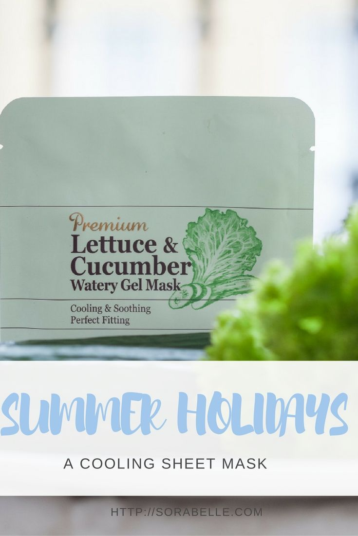 Skinfood Premium Lettuce & Cucumber Watery Gel Mask deeply hydrates skin, soothes sunburns and brightens the complexion for a younger-looking and fresh appearance. Click through to find out why I always bring it on holiday with me.