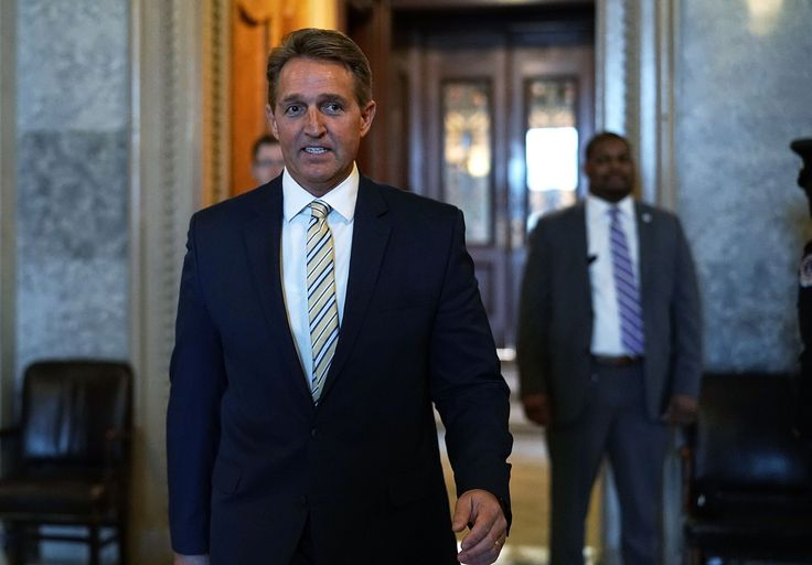 'This Is Reprehensible.' Read Jeff Flake's Speech Comparing Trump's Attacks on the Media to Josef Stalin